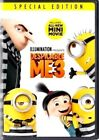 DESPICABLE ME 3 (DVD, 2017) Special Ed. Mini Movie SHIPS 12/5/17 USA RELEASE