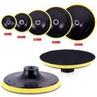 Car Polishing Buffing Pad Hook Loop Backer Plate Select Size Backing Useful AU