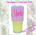 Monogram Vinyl Decal, Sticker, For Tumblers, Cups, Personalized Name