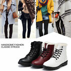 Work Women's Winter Warm Casual Leather Fur Lace up Outdoor Snow Boot Oaur #006
