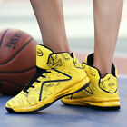 Fashion Men Basketball Shoes Outdoor Running Sneakers Athletic Night Light Cool