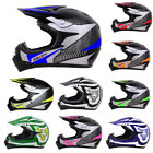 LEOPARD LEO-X Childrens Kids Motocross HELMET Off Road QUAD Pit Bike Motorcross