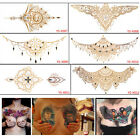 Temporary Tattoo Stickers Sexy Waterproof Chest Back Gold Tattoo Sticker GS P PL $4.64 USD on eBay