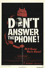 Don't Answer The Phone 1980 27x41 Orig Movie Poster FFF-15445 Fine Ben Frank