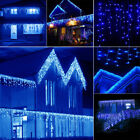 Titillating 10~100FT 96~960 LED Fairy String Icicle Curtain Light Outdoor Christmas WQ