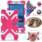 For Samsung Galaxy Tab A E S2 Tab 4 Kids Safe Shockproof Silicone Case Cover WQ