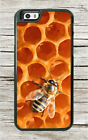 BEE HONEYCOMB PANEL INSECT LIFE CASE FOR iPHONE 8 or 8 PLUS -jkm8Z