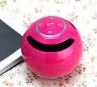 ** PORTABLE BLUETOOTH WIRELESS SPEAKER W/ Mic LED LIGHT SUPPORT MP3 TF CARD **