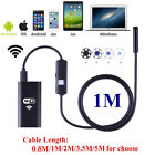 US Wireless 720P Waterproof WIFI Camera Inspection Endoscope For iPhone Samsung