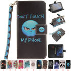 Magnetic Pattern Soft PU Leather Flip Case Stand Cover Skins For Samsung Galaxy