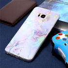 Texture Rubber Soft Cases Cover For iPhone 7 7 Plus Retro Marble Pattern Design