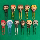 Harry Potter - Bobblehead Cartoon Bookmark Paperclip - Ron Hermione Cedric - NEW