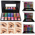78 Farben Damen Pro Matt Lidschatten Palette Make-Up Pulver Kosmetik Rouge Sets