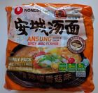 1, 2, 4 Packs NONGSHIM Ansung Spicy Miso Flavor Noodle Soup /w Shittake Mushroom