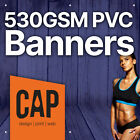 PVC VINYL BANNERS FROM £4 • SUITABLE AS OUTDOOR ADVERTISING & SIGN BANNERS