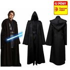 DARTH COSPLAY COSTUME SUIT HALLOWEEN STAR WARS OBI WAN ADULT S M L XL