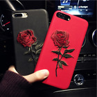 New Soft Shockproof Flower Pattern Case Cover For Apple iPhone X 8 7 6S Plus 5s