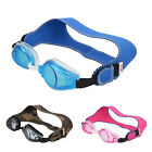 TFY Unisex Swimming Goggles with Soft Adjustable Strap for Kids- Blue,Pink,Camo