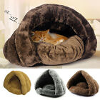 EP_ Cat Dog House Puppy Cave Pet Sleeping Bed Mat Pad Igloo Nest New Fashion