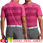 2017 Tiger Woods *TW Zonal Cooling Stripe* Golf Shirt 833171-616