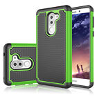 For Huawei Honor 6X Shockproof Hybrid Impact Armor Rugged Rubber Hard Case Cover