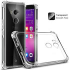Shockproof Transparent Clear Protective Silicone Cover Case For HTC Smart Phone