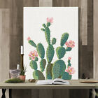 sofa wall bed system - Green Plant Cactus Decorative Wall Art Painting Sofa Background Home Decor EP_