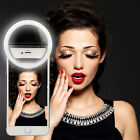 Rechargeable Selfie LED Ring Fill Lightx3 Camera Photography Fit For Smart Phone