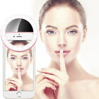 Selfie Portable LED Ring Fill Light Photography Camera Fit Universal Smart Phone