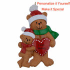 I Love Mommy of 2,3,4 Personalized Ornament Mother's Day Gift DO-IT-YOURSELF