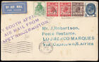 SG434/ 437 1929 PUC Airmail cover, London to South Africa via Mocambique. 321590