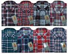 Mens Yarn Dyed Flannel Lumberjack Check Brushed Cotton Work Shirt By Tom Hagan