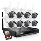 8 channel dvr security system - ZOSI 1080P HDMI 8CH DVR HD 720P Day Night Vision CCTV Security Camera System 1TB