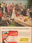 1955 Vintage ad for Instant Swans Down Cake`photo retro   (111817)