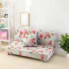 Flower Decor Floral Spandex Stretch  LoveSeat Sofa Cover oUSr 2 Seater