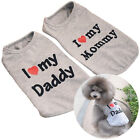 Pet Supplies - Cute T-shirts Dog Coat Vest Sleeveless Love Puppy Cat Pet Clothing Mommy