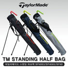 TAYLORMADE 3 Color Stand Half Golf Bag Light Tour Carry Cart Caddy Authentic A_r