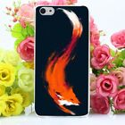 Case Cover For Iphone 4 5 6 7 8 Plus X 10 Apple Nature Fox Cute Animal Creative