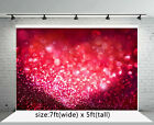 Dreamy Heart Valentine's Day Backdrops Glitter Baby Photography Background Props фото