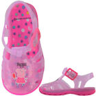 Girls Childrens Kids Peppa Pig Sandals Beach Casual Slippers Shoes Size 6-10