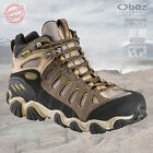 Oboz Mens Sawtooth Mid Bdry Waterproof Walking Boots - New
