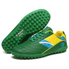 Men Kid Soccer Cleats Football Shoes Indoor TF Turf Trainer Sneakers Flag Color