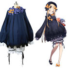 Fate Grand Order FGO Abigail Williams Cosplay Costume Outfit Navy Dress Outfit