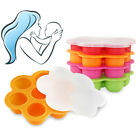 EP_ Cute Weaning Baby Food Silicone Freezer Tray Storage Container BPA Free Dazz