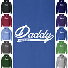 DADDY SINCE 2014 Hoodie Father's Day Newborn Baby Husband Dad Sweatshirt Gift