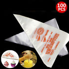 100x Non-toxic Plastic Disposable Icing Bags Cake Cream Decorating Piping Bags B