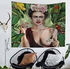 Mandala Tapestry Frida Kahlo Art Wall Hanging Tapestries Bedspread Beach Towe