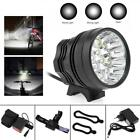 40000LM 16 x CREE XM-L T6 LED 3-Mode Bike Light Bicycle Headlamp+Battery+Charger