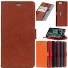 New Card Holder PU Leather+TPU Flip Wallet Case Cover Stand For Various Phone