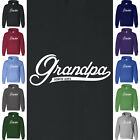 GRANDPA SINCE 2014 Hoodie Sweatshirt Dad Daddy Grandparent Grandad Father's Day